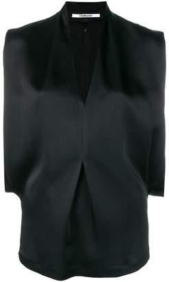 Chalayan V-neck drape top