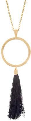 Belle By Kim Gravel Belle by Kim Gravel EmBELLEish Goldtone Tassel Necklace
