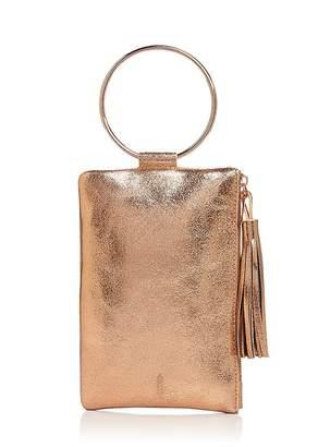 Nolita Thacker Metallic Leather Clutch