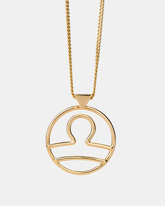 Karen Walker Libra Zodiac Necklace