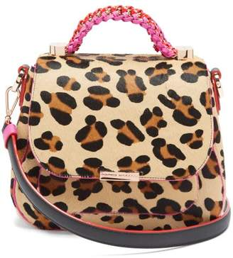 Sophia Webster Eloise Leopard Print Calf Hair And Leather Bag - Womens - Leopard