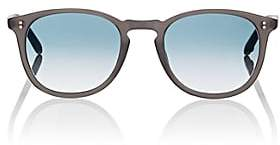 Garrett Leight Men's Kinney Sunglasses-Gray