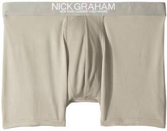 Nick Graham Solid Boxer Briefs Men's Underwear
