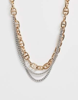 Dyrberg/Kern Dyrberg Kern Multi Layered Link Necklace