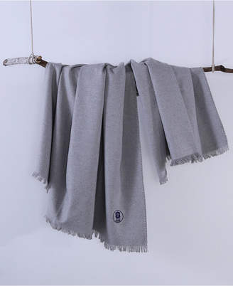 """Berkshire Brooklyn Industries 50"""" x 60"""" Embroidered Throw"""