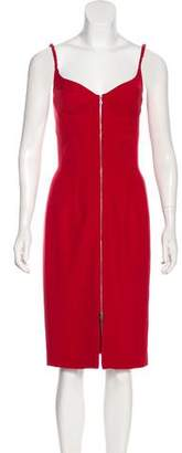 Narciso Rodriguez Sleeveless Midi Dress