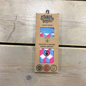 Stand4 Socks Vaccination Optical Illusion Sock
