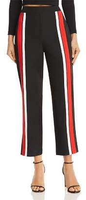 Tiger Mist Highway Track Stripe Wide-Leg Pants