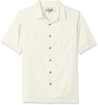 Margaritaville Men's Short Sleeve Back Print BBQ Shirt