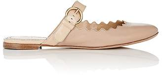 Chloé Women's Lauren Leather Buckle-Strap Mules