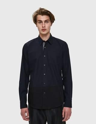 Dries Van Noten Poplin Shirt in Midnight