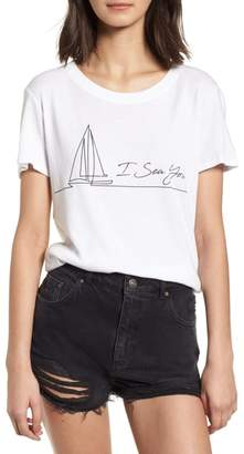 Sub Urban Riot Sub_Urban Riot I Sea You Slouched Graphic Tee