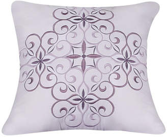"""Isa Belle Harper Lane Isabelle Embroidered Square Pillow, 18"""" x 18"""""""