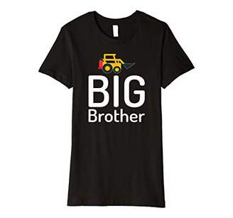 Womens Big Brother Gender Reveal Sibling Brother Gift Premium T-Shirt
