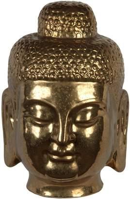Privilege Buddah Head Ceramic Figure