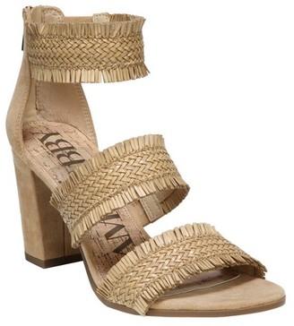 Sam & Libby Women's Sam & Libby Esther Heeled Quarter Strap Sandals $32.99 thestylecure.com