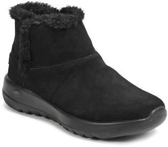 Skechers Slip-On Faux Fur Sneakers