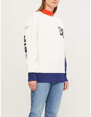 Puma X ADER ERROR contrast-panel stretch-jersey sweatshirt