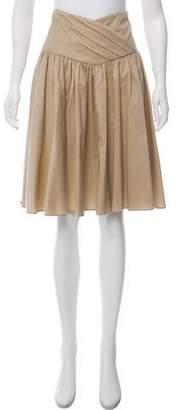 Diane von Furstenberg Knee-Length Pleated Skirt