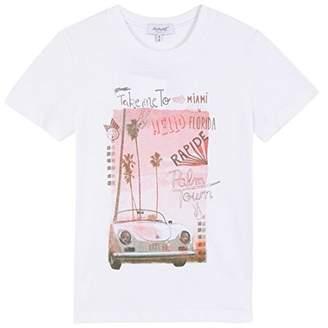 Alphabet Boy's Cayenne T-Shirt,(Manufacturer Size: 10A)