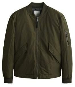 MANGO Pocket quilted bomber jacket