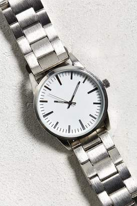 Urban Outfitters Brushed Metal Bracelet Watch