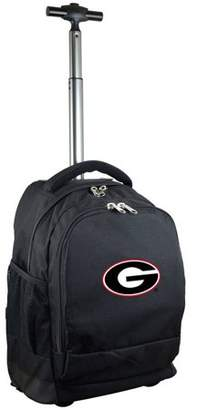 Denco Mojo Licensing Premium Wheeled Backpack - Georgia