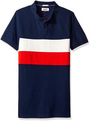 Tommy Hilfiger Men's Thdm Track Short Sleeve Polo Shirt