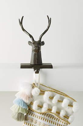 Anthropologie Reindeer Stocking Holder