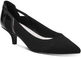 Easy Street Shoes Fancy Kitten-Heel Pumps Women's Shoes