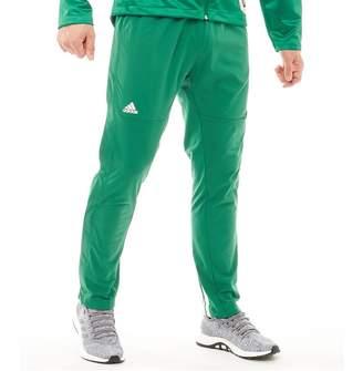1f650c3b03d5 adidas Mens Ekit Snap Basketball Pants Kelly Green White