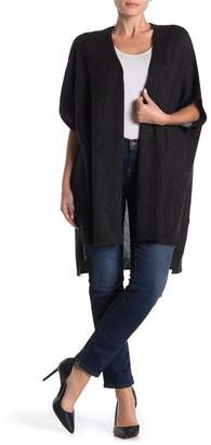InCashmere In Cashmere Cashmere Open Front Hi/Lo Cardigan
