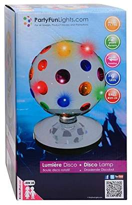 Camilla And Marc PartyFunLights 86300 Light Disco Ball Chrome 18.5 x 18.5 x 27 cm
