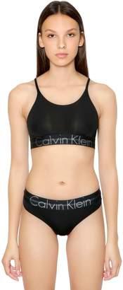 Calvin Klein Underwear Logo Band Stretch Bralette