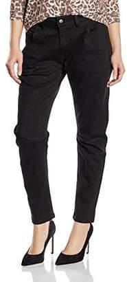 Cross Women's Tapered Jeans Black Schwarz (Black 005)