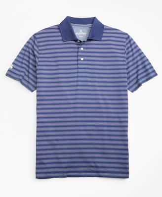 Brooks Brothers Performance Series Bird's-Eye Outline Stripe Polo Shirt
