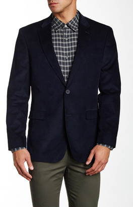 Tommy Hilfiger Willow Two Button Notch Lapel Corduroy Sportcoat $295 thestylecure.com