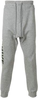 Juun.J Archive embroidered joggers