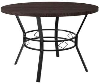 "Flash Furniture Tremont 45"" Round Dining Table in Espresso Wood Finish"