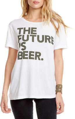 Chaser The Future Is Beer Slogan Tee