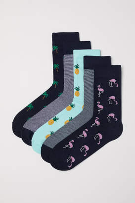 H&M 5-pack Socks - Green