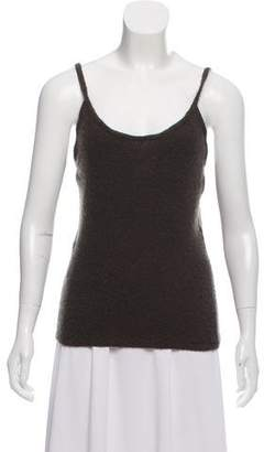 Chanel Cashmere Sleeveless Knit Top