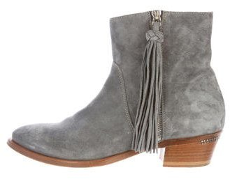 Ralph Lauren Collection Suede Ankle Boots