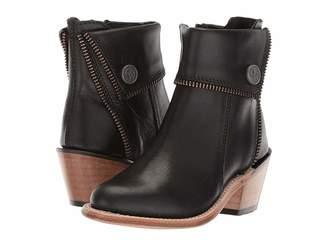 Old West Kids Boots Zipper Shoe Boot (Toddler/Little Kid)