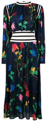 MSGM long flared dress