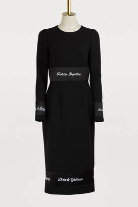 Dolce & Gabbana Wool dress
