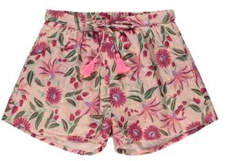 Sale - Nutsy Lurex Floral Shorts - Louise Misha