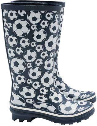 M&Co Football wellies