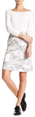 BOSS HUGO BOSS Victyna Crosshatch Skirt $335 thestylecure.com