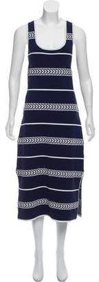 Laundry by Shelli Segal Striped Midi Dress